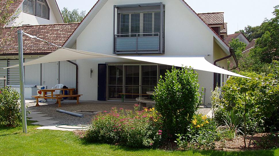 Top Schönste Beschattung für Ihre Terrasse › Sitrag Sonnensegel SQ63