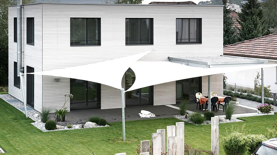 Beliebt Schönste Beschattung für Ihre Terrasse › Sitrag Sonnensegel IM75