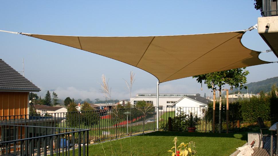 Sonnensegel terrasse sonnenschutz