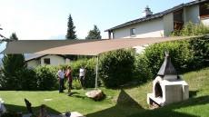 Beschattung Gartensitzplatz